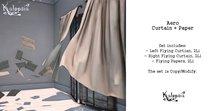 Kalopsia - Aero Flying Curtain + Paper