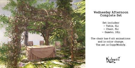 Kalopsia - Wednesday Afternoon Set