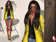 Bens Boututique - Blazer Set Mesh Outfit