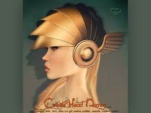 Pure Poison - Celeste Head Armor Gold & Silver