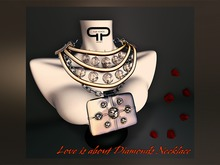 Pure Poison - Love is all about Diamonds Necklace