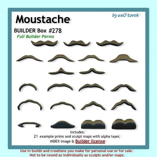 Moustache Builder Box 278