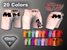 UFC Shorts All 20 Colors Box