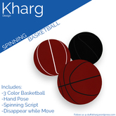 Kharg Design - Spinning Basketball