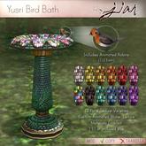 Jian :: Yusri Bird Bath