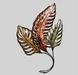 Tropical Copper Leaves .. CUTOUT .. PNG file .. 1 Prim