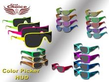 -= SunGlass All - Full Hud Control - Pick Color Box =-