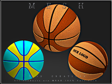 T-3D Creations [ Basketball ] Micro and Regular MESH - Full Perm -