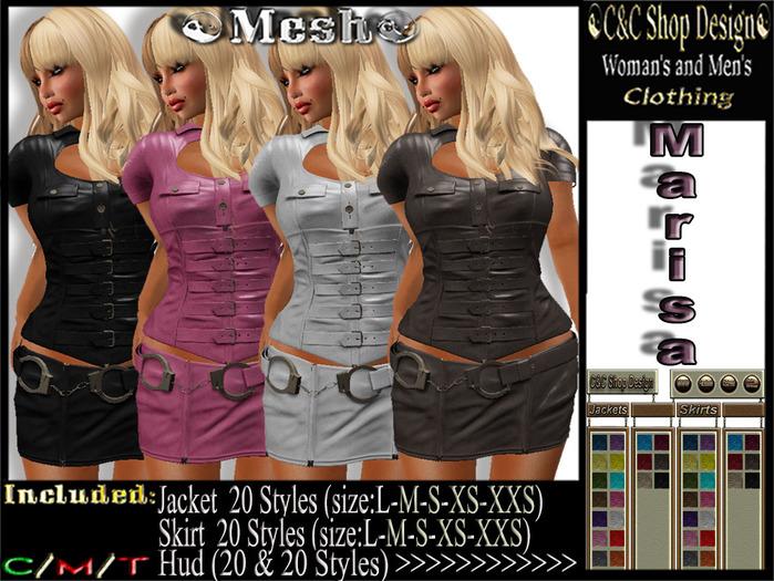 C&C Mesh Marisa (Hud 20 & 20 Styles)