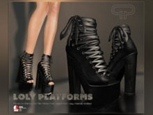Pure Poison - Lolly Platforms - Ad-ons for Maitreya and Slink Medium Feet