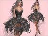 Boudoir Halloween-Skeleton Cage Dress