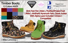 :: Miss Canning :: [ Timber Boots ] TMP+Slink+Aesthetic+Classic