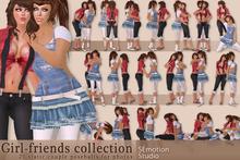 SEmotion Girl-friends Collection - 20 couple static poseballs