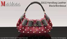 MdiModa - [002] Handbag Black/Bordeaux