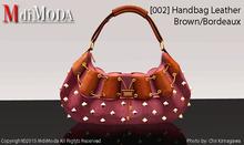 MdiModa - [002] Handbag Brown/Bordeaux