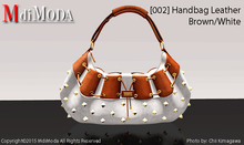 MdiModa - [002] Handbag Brown/White