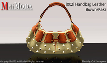 MdiModa - [002] Handbag Brown/Kaki
