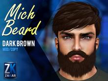 Mich Beard Dark Brown - ZK