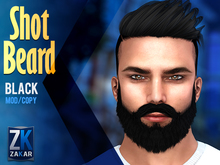 Shot Beard Black - ZK