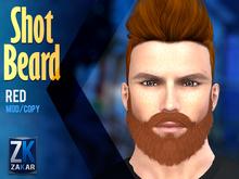 Shot Beard Red - ZK