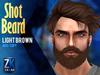 Shot Beard Light Brown - ZK