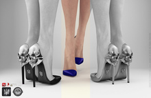 keem : Aria heels Night ( Unpack Hud - wear )