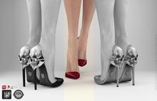 keem : Aria heels Bordeaux ( Unpack Hud - wear )