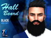Hall Beard Black - ZK