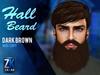 Hall Beard Dark Brown - ZK