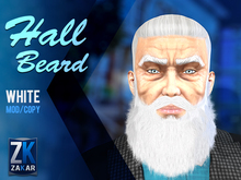 Hall Beard White - ZK