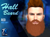 Hall Beard Red - ZK