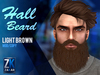 Hall Beard Light Brown - ZK