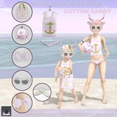 :BoWillow: Summer Sailor Outfit COTTON CANDY