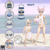 :BoWillow: Summer Sailor Outfit NAVY
