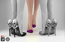SALE 60% OFF Phedora. Aria heels Mulberry