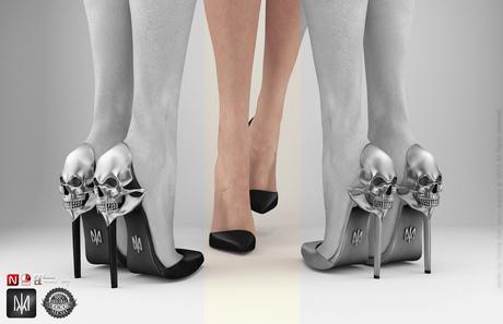 SALE 60% OFF Phedora. Aria heels Black