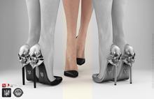 keem : Aria heels Black ( Unpack Hud - wear )