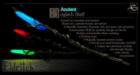 .Eldritch. Ancient Boglach Staff