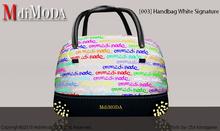 MdiModa - [003] Handbag White Signature