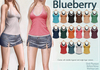 Blueberry calyn double   single layer tank tops2