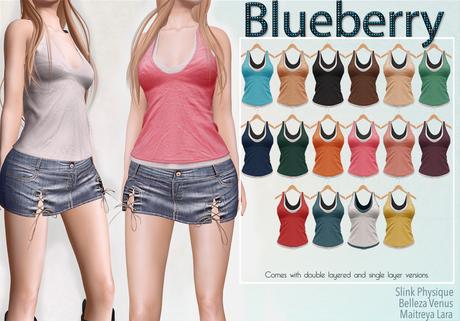 Blueberry Calyn - Maitreya / Belleza / Slink - Fat Pack
