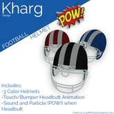 Kharg Design - Football Helmet