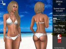 DE Designs - DEkini #2 - White