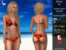 DE Designs - DEkini #2 - Volcano