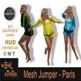 SET 2 - eDelsToRe - Mesh Jumper - Paris