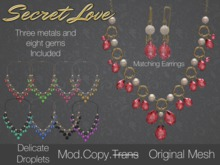 {Secret Love} Delicate Droplets - Set (Original Mesh)