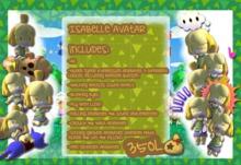 [KD] Isabelle Avatar - Animal Crossing - New Leaf