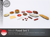 [DD] - FULL PERM  Food Set 1