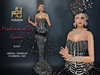 .:JUMO:. Mademoiselle Gown Black