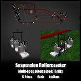 Suspension Rollercoaster *0.075ms* Multi-Loop Mouselook Thrills